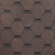 Битумная черепица SHINGLAS ROOFMAST коричневый