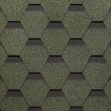 Битумная черепица SHINGLAS ROOFMAST зеленый
